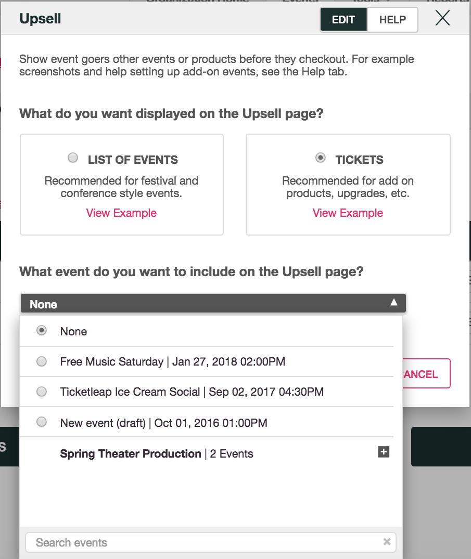 What is Upselling? – Ticketleap